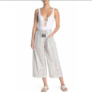 L*Space Robyn Cover-Up Pants Size Large